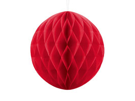 Wabenball Red 20 cm / 30 cm