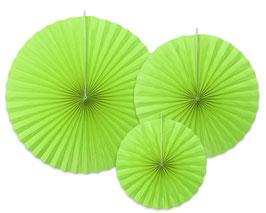 Rosetten Limettengrün