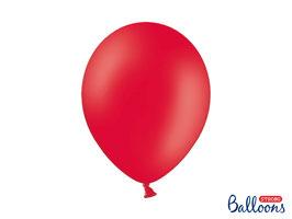 10 Luftballons 30 cm Rot