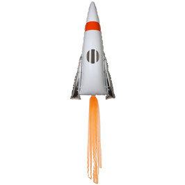 Folienballon Rakete
