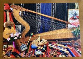 """Ravensburger Puzzle """"World Musical Instruments"""" - 1'000 Teile & 1 CD nach Wahl gratis als Geschenk dazu"""