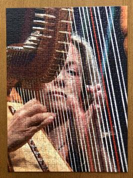 """Ravensburger Puzzle """"Paraguay-Harfe"""" - 500 Teile & 1 CD nach Wahl gratis als Geschenk dazu"""