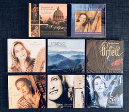 Grosse CD-Kollektion: 20 Jahre Harfenmusik von Daniela Lorenz