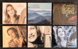 Mittlere CD-Kollektion: 20 Jahre Harfenmusik von Daniela Lorenz