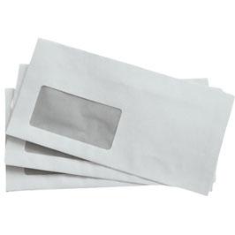 Briefumschläge DIN lang mit Fenster