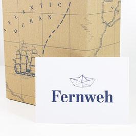 Postkarte FERNWEH