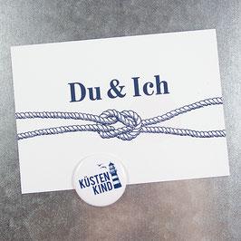 Postkarte DU & ICH
