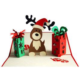 Weihnachtselch & Geschenke