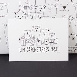 Postkarte Bärenstarkes Fest
