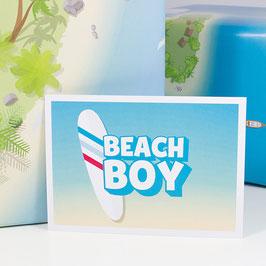 Postkarte BEACH BOY