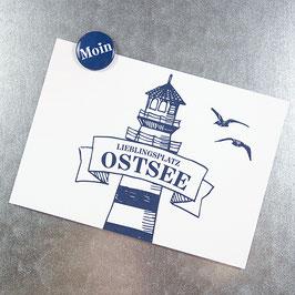 Postkarte OSTSEE