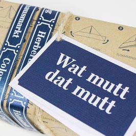 Geschenkanhänger WAT MUTT DAT MUTT