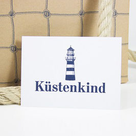Postkarte KÜSTENKIND