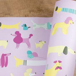 Geschenkpapier DOGS
