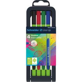 Fineliner Schneider Line-Up 4er Box