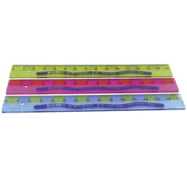 Lineal KUM SOFTIE FLEX 15cm