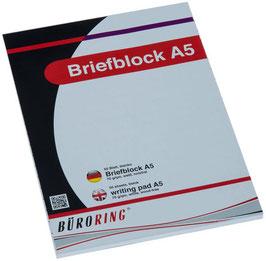 Briefblock DIN A5