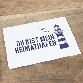 Postkarte HEIMATHAFEN