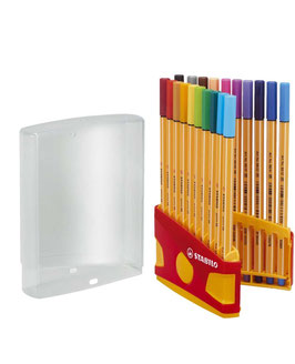 Fineliner Stabilo Point 88 ColorParade
