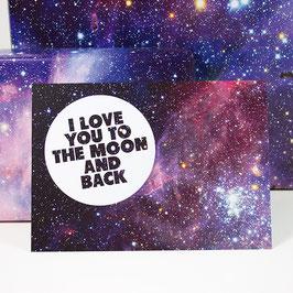 Postkarte I LOVE YOU