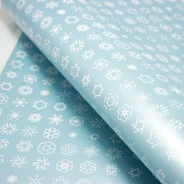 Geschenkpapier Schneeflocken 2