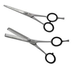 Haarscheren - Friseurscheren im 2-er Set - Haarschere + Effilierschere