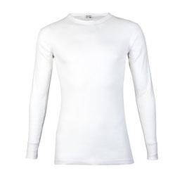T-shirt M3000, Lange Mouw WIT