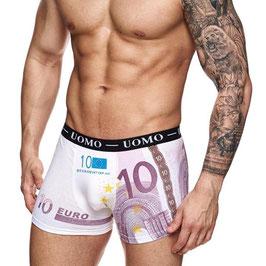 Uomo heren boxer €10,- biljet ROZE