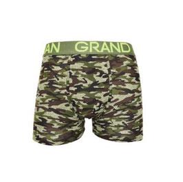 Grand Man heren armyboxer GROEN