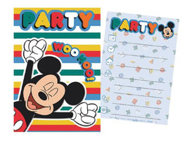 Pack Cartes Invitation Mickey