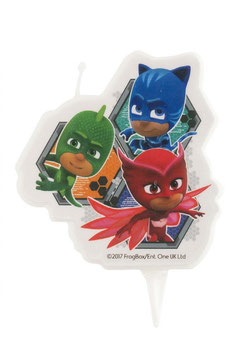 Bougie 2D PJ Masks Pyjamasques