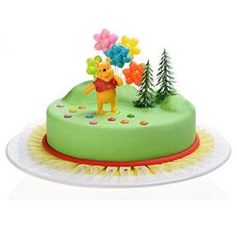 Kit déco Gâteaux Disney Winnie