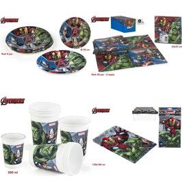 Kit Déco Table Anniversaire Avengers