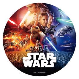 Disque Sans Sucre 20 cm Star Wars