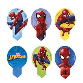 20 Piques Azyme Spiderman