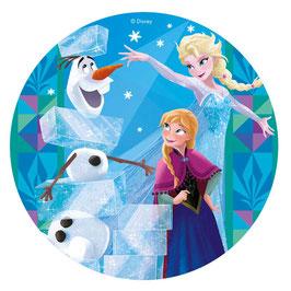 Disque Azyme Reine des Neiges - Frozen