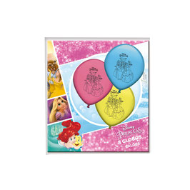 Lot 8 Ballons baudruche Princesses Disney