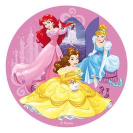 Disque Azyme 20 cm Princesses Disney