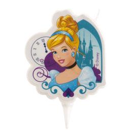 Bougie 2D Princesse Cendrillon