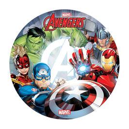Disque Azyme 20 cm Avengers