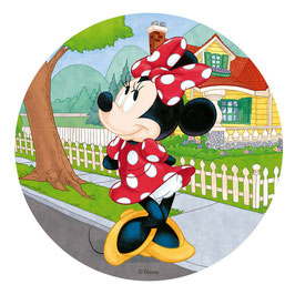 Disque Azyme 20 cm Disney Minnie