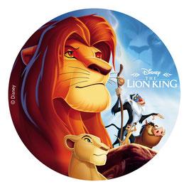 Disque Sans Sucre 20 cm Le Roi Lion