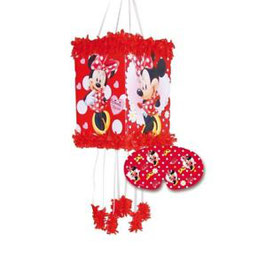 Piñata en Carton Minnie