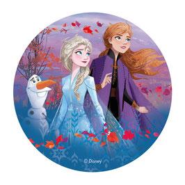 Disque Azyme Reine des Neiges - Frozen II