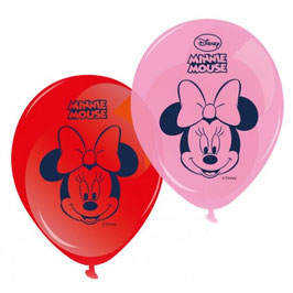 Lot 8 Ballons de baudruche Minnie