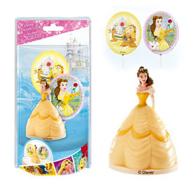 Kit Gâteau Figurine Princesse Belle