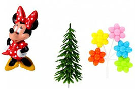 Kit déco Gâteaux Disney Minnie