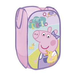 Panier / Corbeille Peppa Pig Mauve