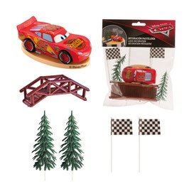 Kit Gâteau Figurines Cars