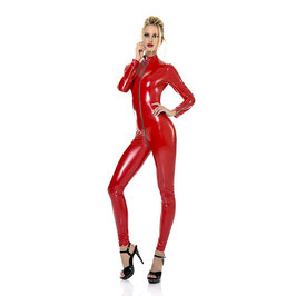 SWEETY CATSUIT LACK ROT
